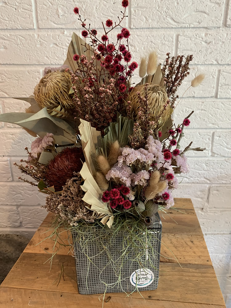 Everlasting Arrangement Forever Floral Designs In Point Clare